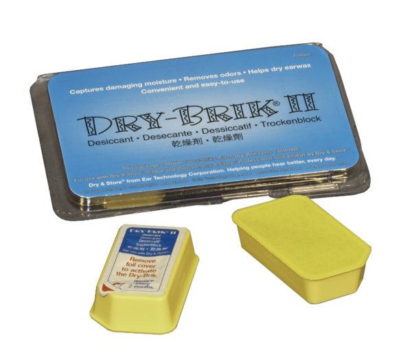 DryBrik kuivauskapselit Dry&Store laitteeseen