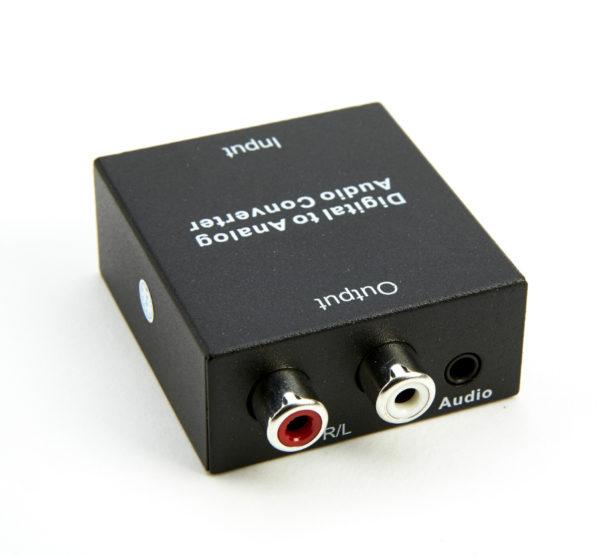 Echo digitaali/analogimuunnin