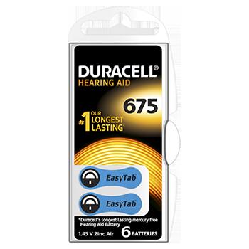 Duracell 675 kuulokojeparisto