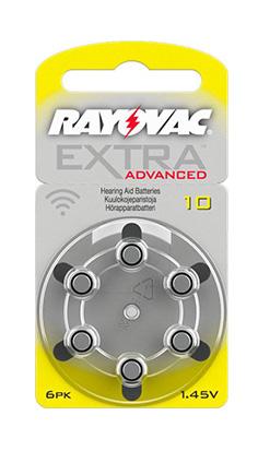 Rayovac Advanced Extra 10 Kuulokojeparisto Audienta
