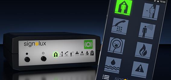 Signolux Gateway ja puhelin