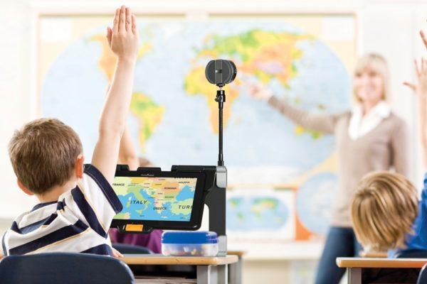 Connect 12 etäkameralla luokassa